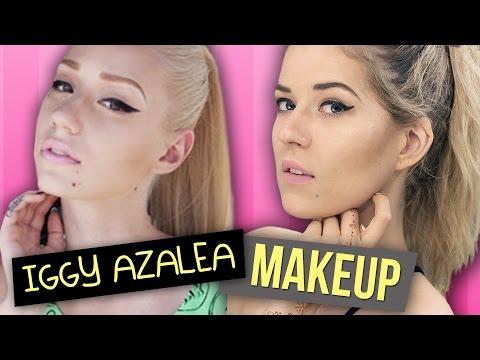 Meghan Rosette Gets FANCY in Iggy Azalea Makeup Tutorial