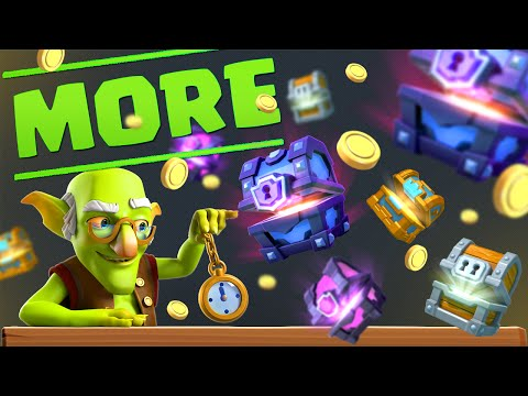 More Gold and Chests! :: Clash Royale :: BUY LEGENDARIES!!