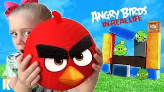Angry Birds Movie 2 in Real Life Game for Kids!!! KIDCITY