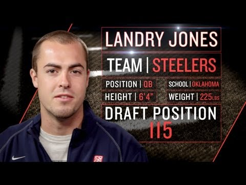 Landry Jones on Steelers role, playbook, and tempo (2013 NFLPA Rookie Premiere)