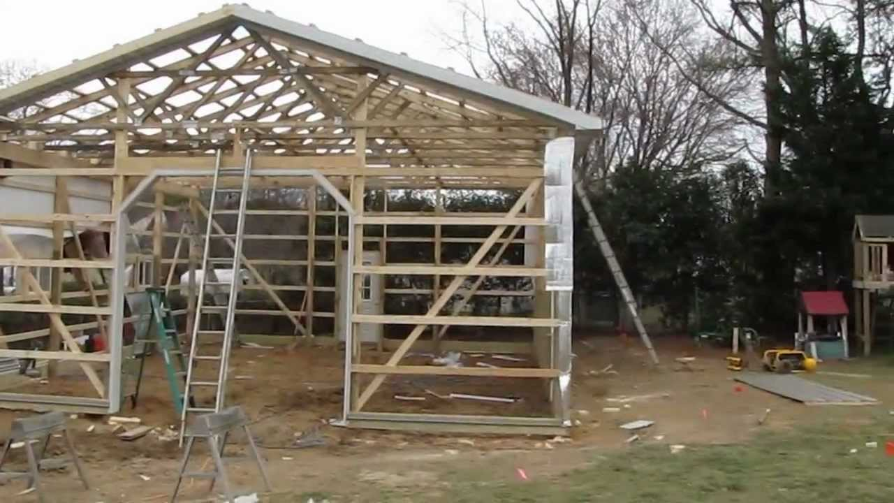 Updates New Project My Pole Barn Garage Cha Pole Buildings
