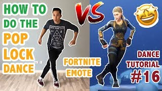 How To Do The Pop Lock Dance In Real Life (Fortnite Dance Tutorial #16) | Learn How To Dance