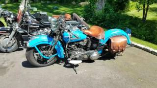 3 Harley Panheads Compared 1948, 1955 1965