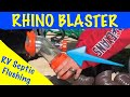 How To Clean Your RV Black Tank - Rhino Blaster