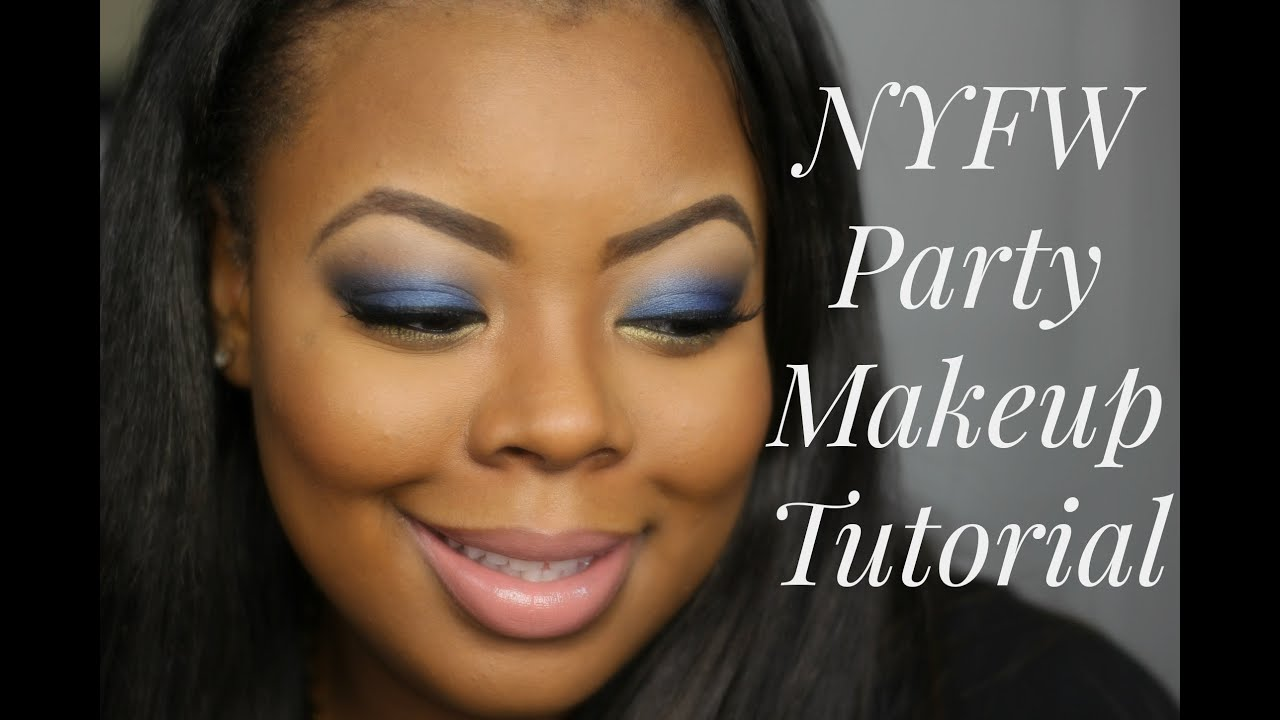 Nyfw night inspired look feat fashion fair cosmetics youtube