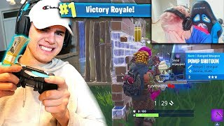 I PLAYED vs NINJA IN FORTNITE for $10,000! FORTNITE TOURNAMENT vs NINJA (PRETENDING TO BE NINJA)