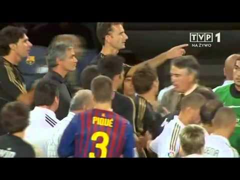 Mourinho attack Tito Vilanova