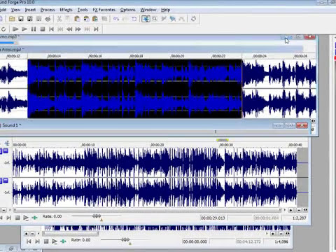 Edicion de Audio Mix Musicales Video Tutorial de Sound Forge editar mi musica