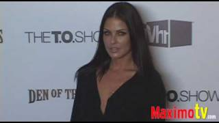 SUMMER ALTICE at Terrell Owens 'The T.O. Show' Party July 16 2009