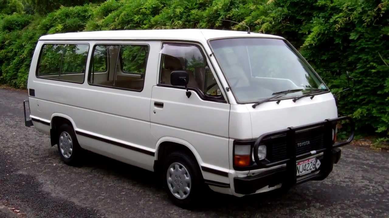 1987 Toyota Hiace 1 Reserve Cash4cars Cash4cars