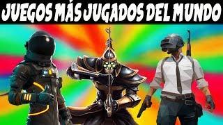 🎮 10 JUEGOS MAS JUGADOS DEL MUNDO 2019 | ANÁLISIS DE JUEGOS PS4, PC, Xbox, Nintendo Switch..