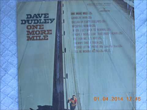 Dudley, Dave - I Hope I Never Love That Much Again