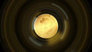 Mining Crypto Coins Abstract Animation Stock Motion Graphics
