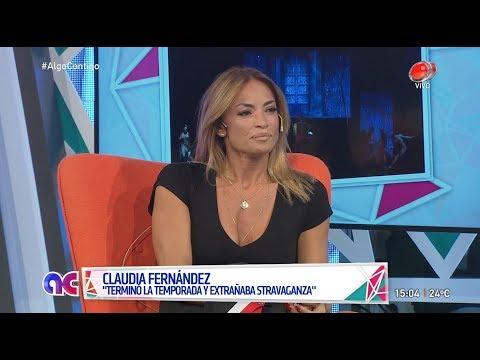 Algo Contigo - Claudia Fernández 16 de Abril de 2018