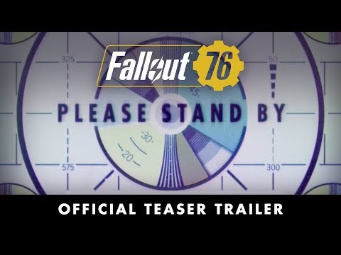 Fallout 76 – Official Teaser Trailer