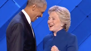 Obama and Hillary Together, for History