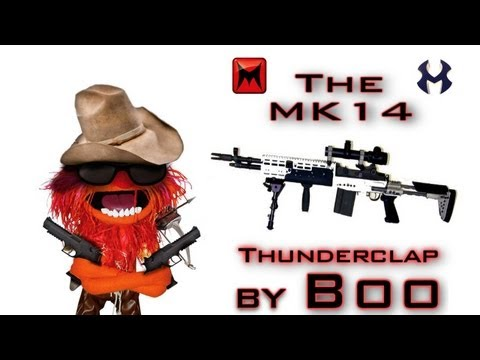MK14 Gameplay | Thunderclap - Modern Warfare 3