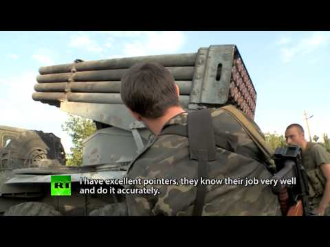 RT's Paula Slier interviews militia battalion commander in E.Ukraine (September 2)