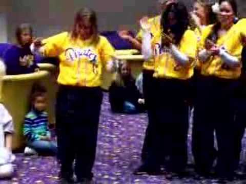 ECU Softball Cheer-Peanut Butter and Jelly