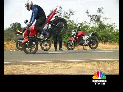Pulsar 135 Vs Yamaha FZ 16 Vs Honda Stunner on OVERDRIVE