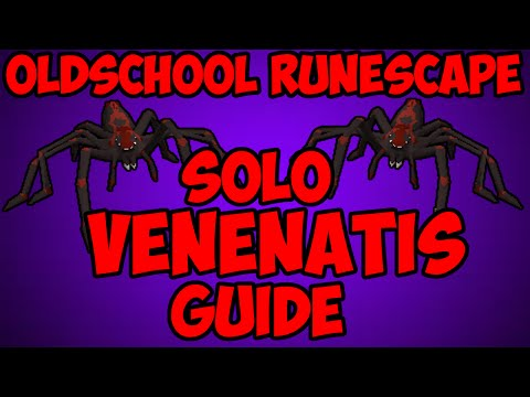 Oldschool Runescape – Venenatis Wilderness Boss Solo Guide