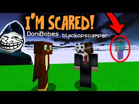 HEROBRINE VOICE CHANGER MAKES HACKER QUIT MINECRAFT (Minecraft Trolling)