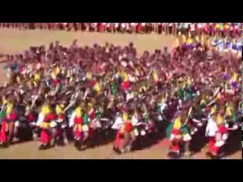 Umhlanga Reed Dance 5 2013 - YouTube