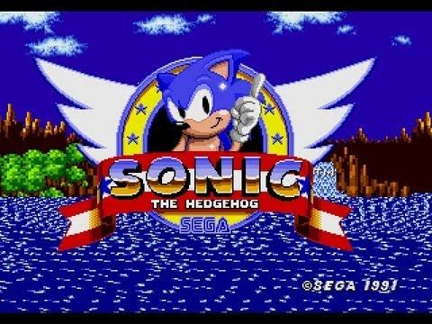 Sonic The Hedgehog (mega Drive genesis) [longplay] video