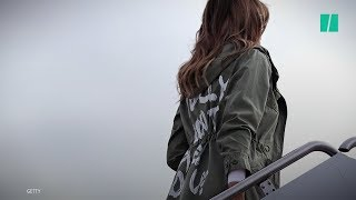 download musica Melania Trump Wears I Dont Really Care Jacket To Visit Migrant Children