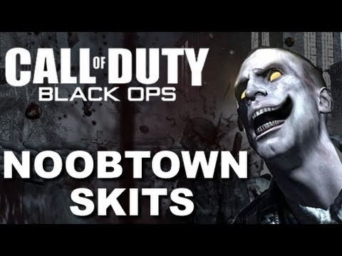 Noob Fire Call Duty Black Ops Funny Skit