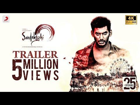 Sandakozhi 2 Official Trailer | Vishal, Keerthi Suresh, Varalaxmi | Yuvanshankar Raja | Lingusamy