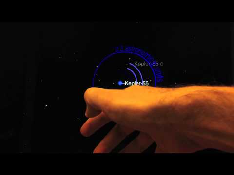 Exoplanet App and the LEAP Motion Controller