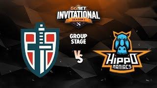 Espada vs Hippomaniacs Game 3 - GG.Bet Invitational: Group B w/ BreakyCPK & DeMoN