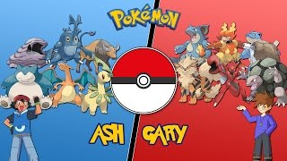 Ash Vs Gary (Johto League) - |Pokemon Battle Revolution| Let's Play 02