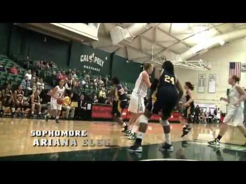 Highlights from Cal Poly Women's Basketball versus UC Irvine (March 7, 2013)