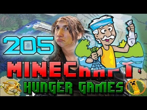 Minecraft: Hunger Games w/Mitch! Game 205 - Sparkles Dudley!