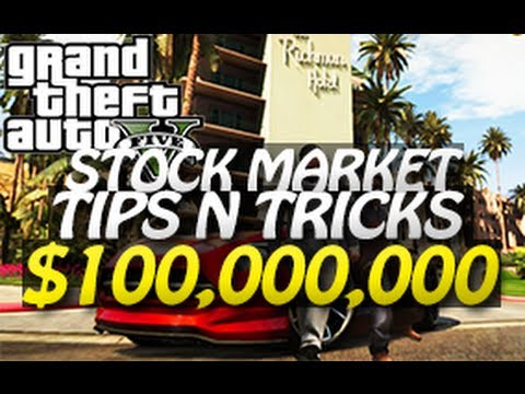 GTA 5 - $100,000,000 Stock Market Trick (Easy Money Tutorial) D