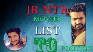 JR NTR  Movies List in Telugu