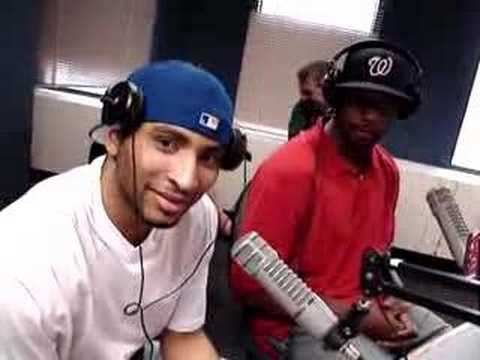 Hawks Al Horford and Mario West with Ryan Cameron Video