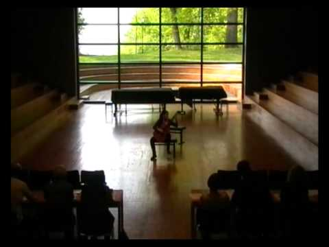 Katarina Maric plays Carlo Domeniconi - Koyunbaba at Weimar Guitar Festival Germany 2011