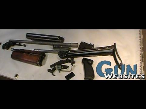 AK47 Parts Kit: Yugo Underfolder