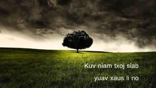 Quaj Nco Kuv Niam (lyrics)