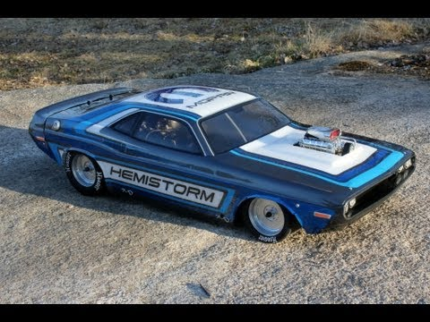 FG Dragster - Mopar Paint