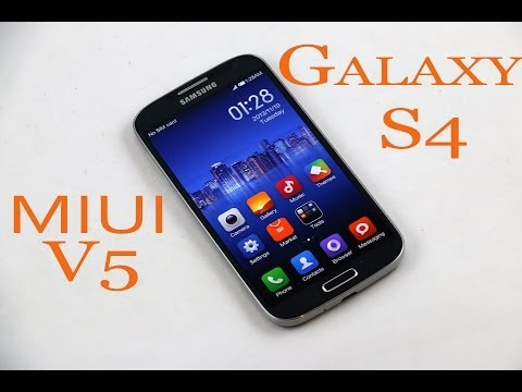 Galaxy S4 (I9500) : Official MIUI V5 Rom - How to install