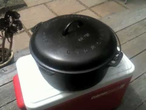 cleaning a very old cast iron dutch oven youtube. Black Bedroom Furniture Sets. Home Design Ideas