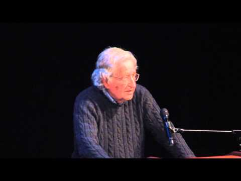 Noam Chomsky at Left Forum 2013
