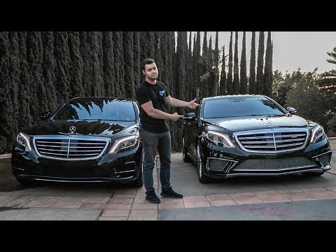 Mercedes S65 AMG vs S550 Head To Head Review - $237.000??