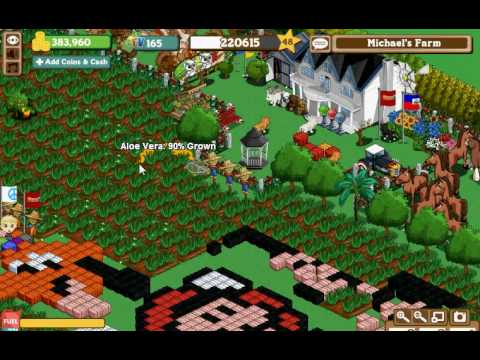farmville design new super mario - my farm Video