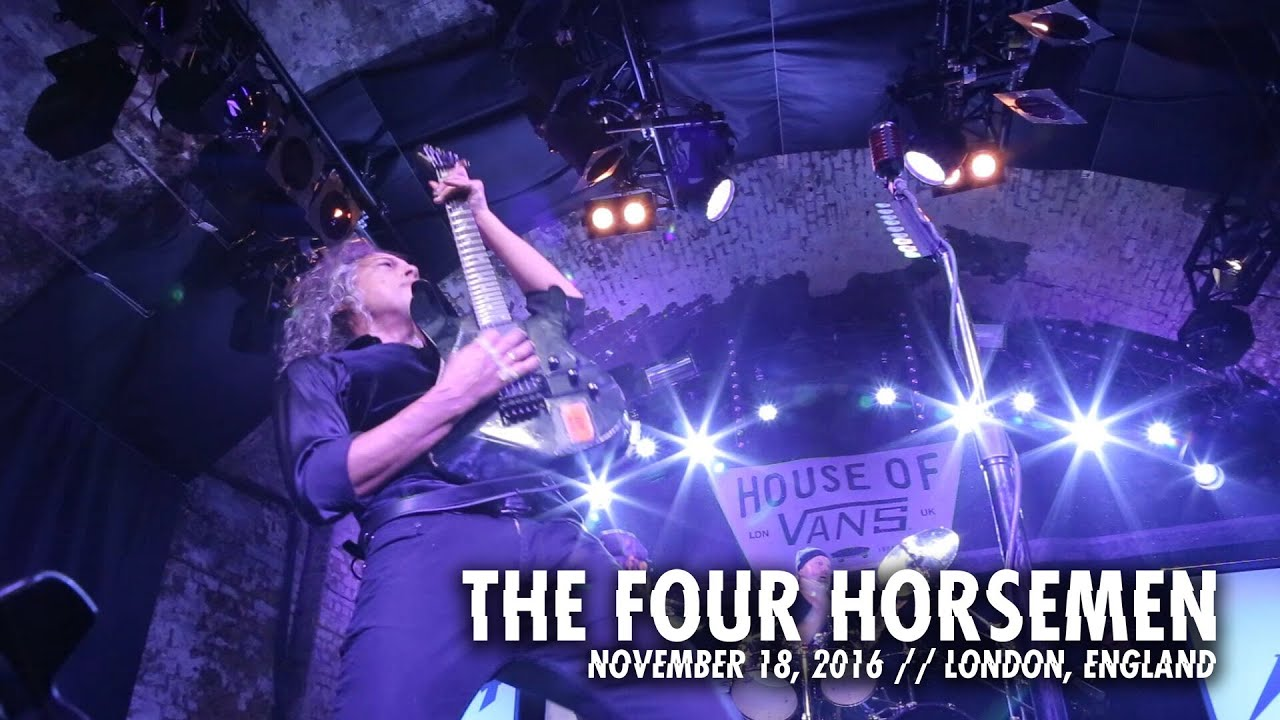 Metallica: The Four Horsemen (House of Vans Recap - London, England - 2016)