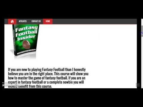 Tops Sports.Com Fantasy Football Insider Course